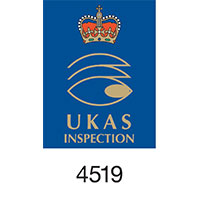 UKAS Inspection Logo