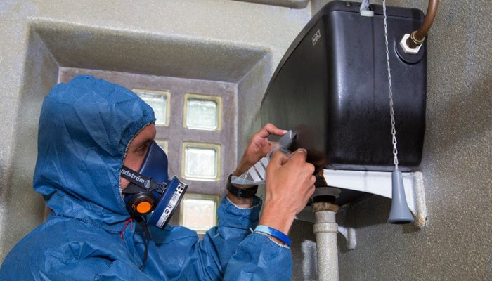 How to dispose of asbestos containing materials safely